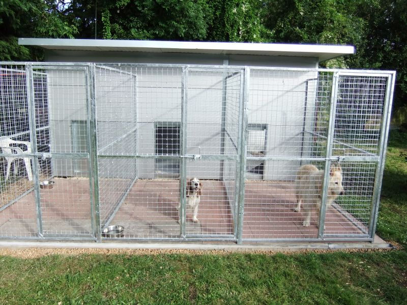 Dog Kennel Panels Mesh Haborn Products